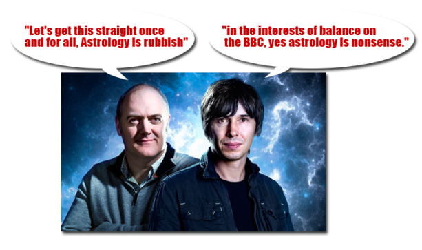 Brian Cox on astrology